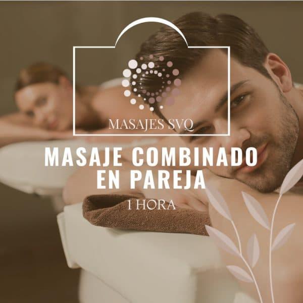 masaje combinado en pareja