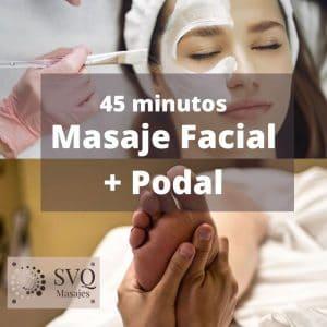 masaje facial podal Sevilla